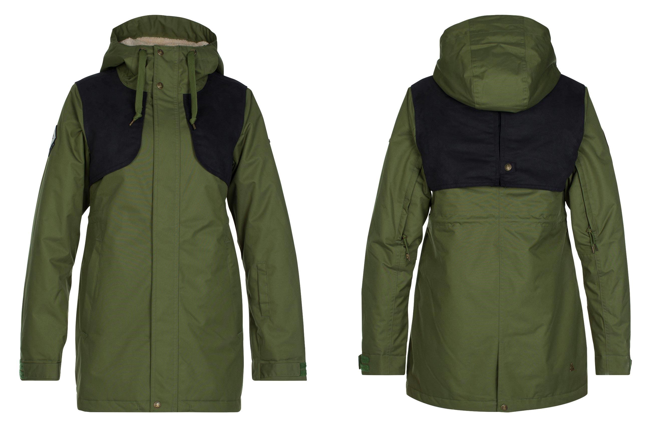 Zimtstern Mazonka Jacket für Damen - Farbe: Olive