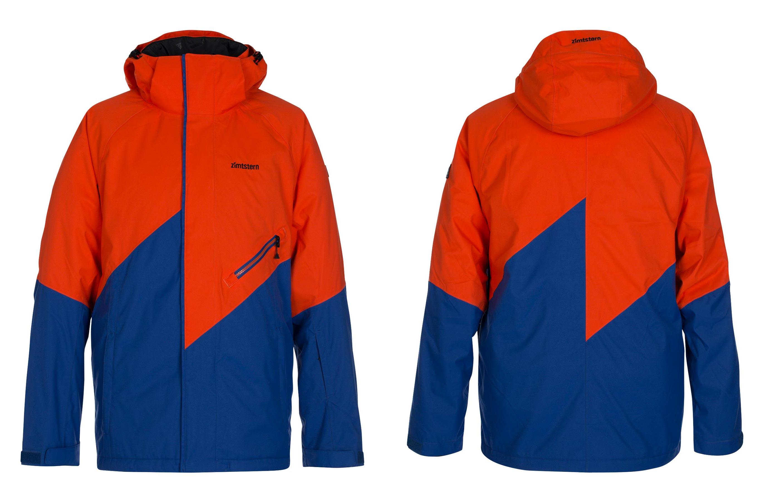 Zimtstern Lokez Snow Jacket für Männer - Farbe: Grenadine