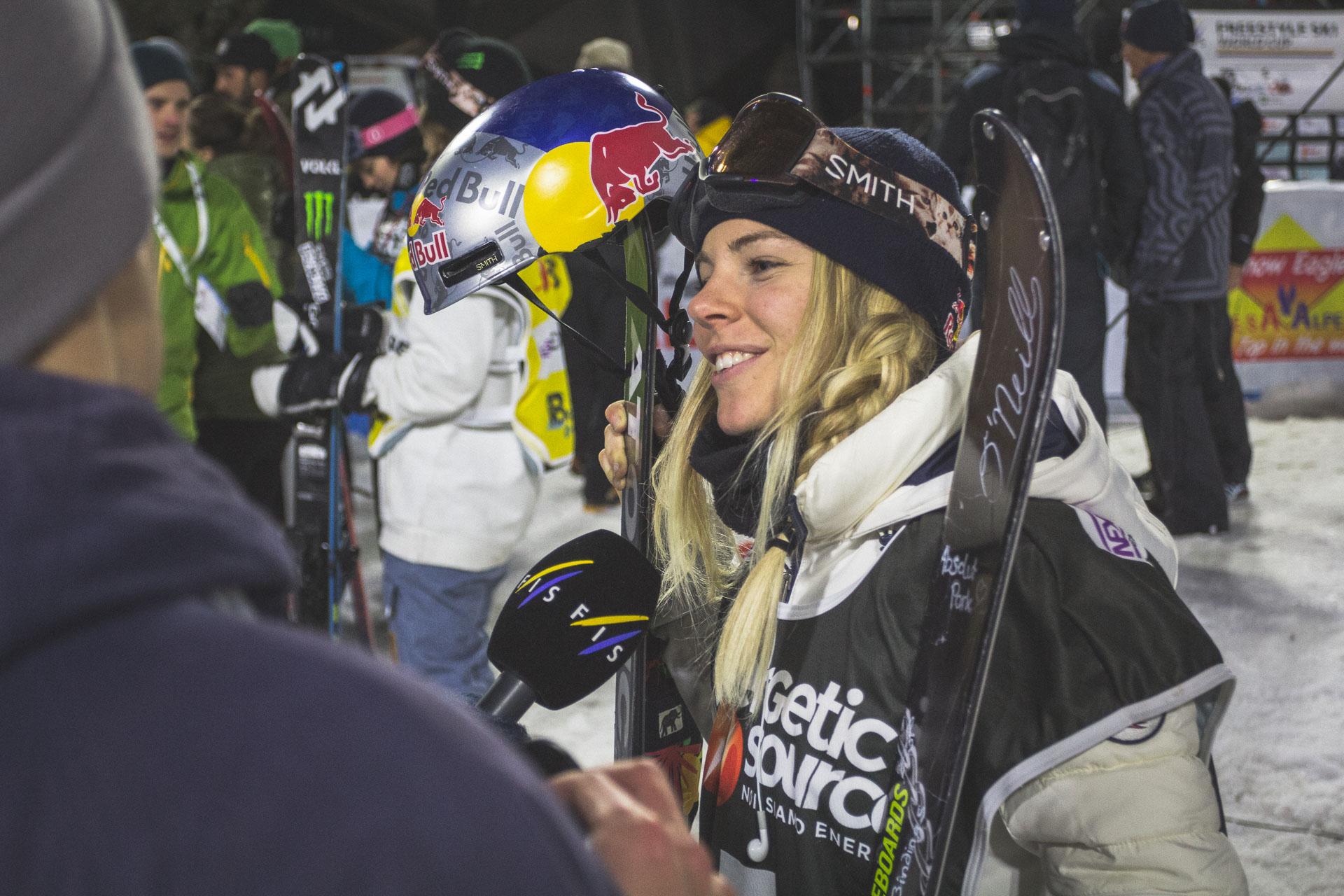 Eine gefragte Frau nach dem Ende des Finales: Lisa Zimmermann