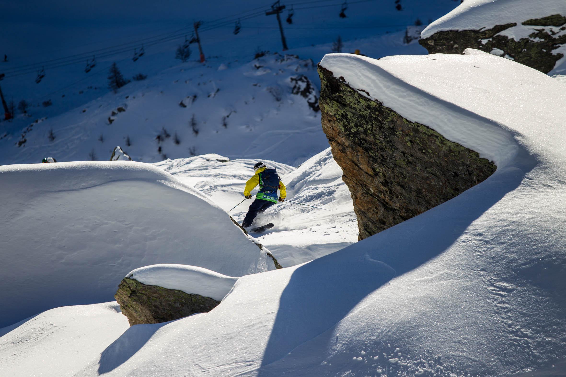 Freeride Junior Tour 2015 Chamonix-Mont-Blanc By Dakine - Tim Lloyd