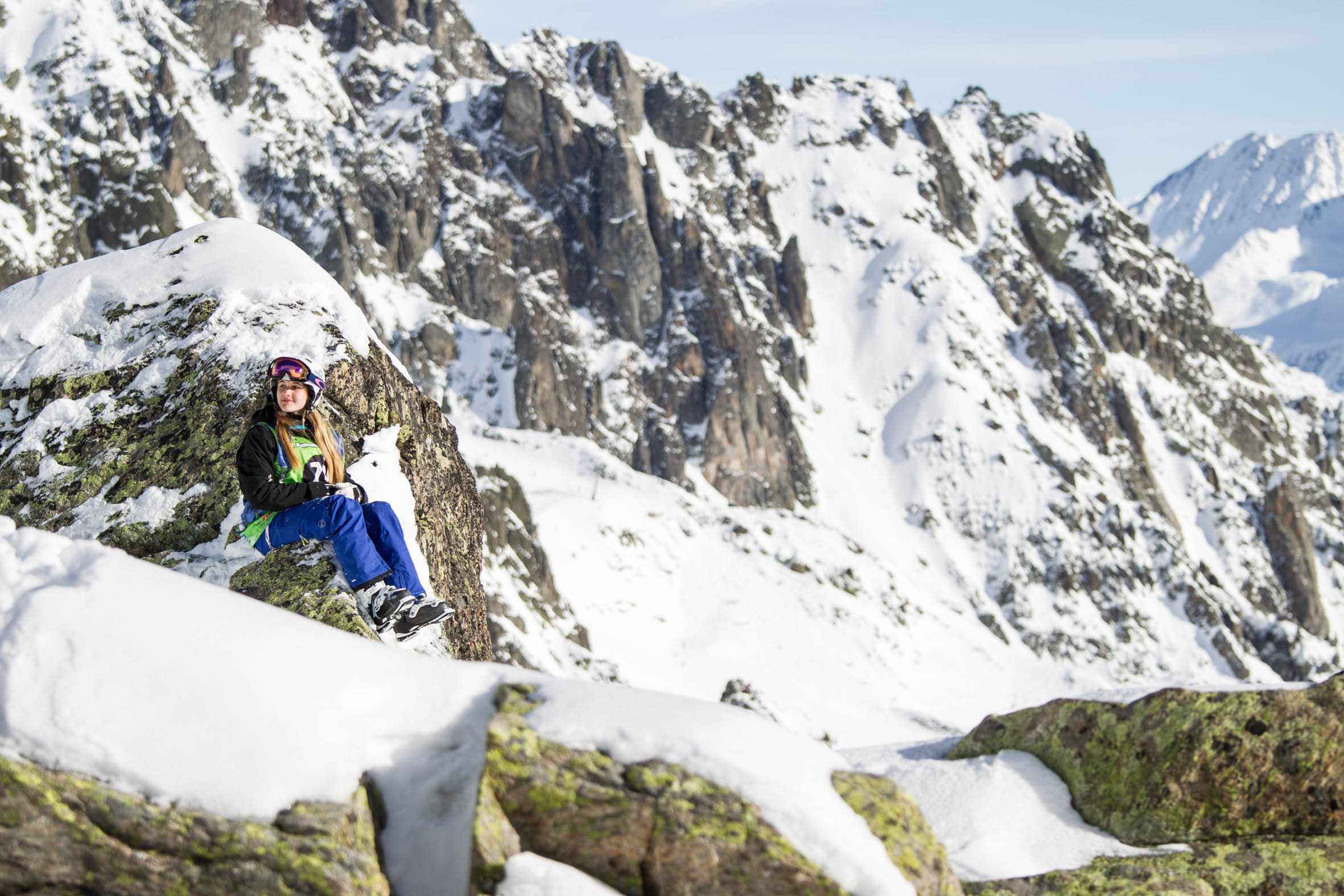 Freeride Junior Tour 2015 Chamonix-Mont-Blanc By Dakine - Photo : Tim Lloyd