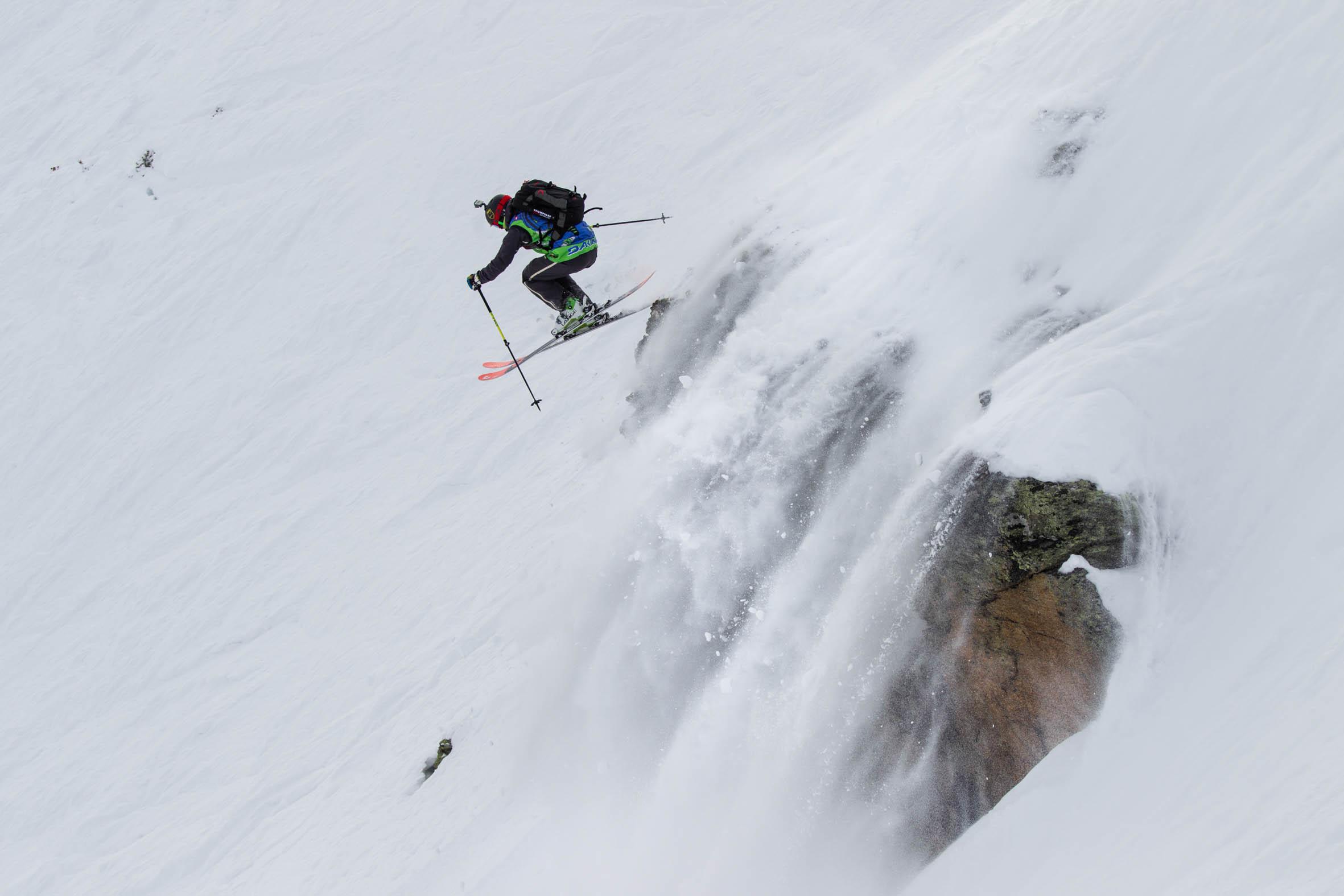 Freeride Junior Tour 2015 Chamonix-Mont-Blanc By Dakine - Photo : Tim Lloyd