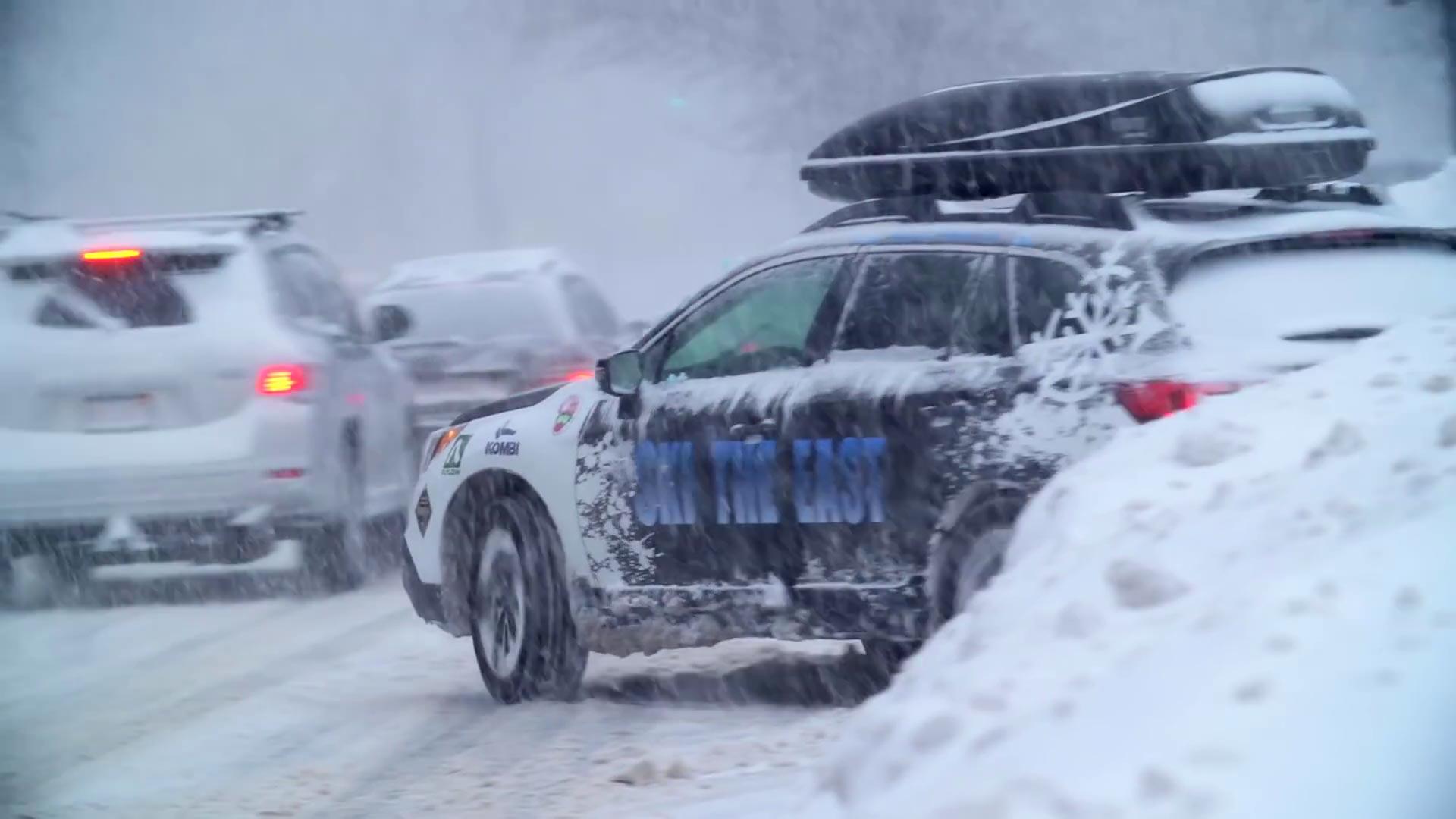 Street Edit vom massiven Blizzard an der US-Ostküste – Ski The East