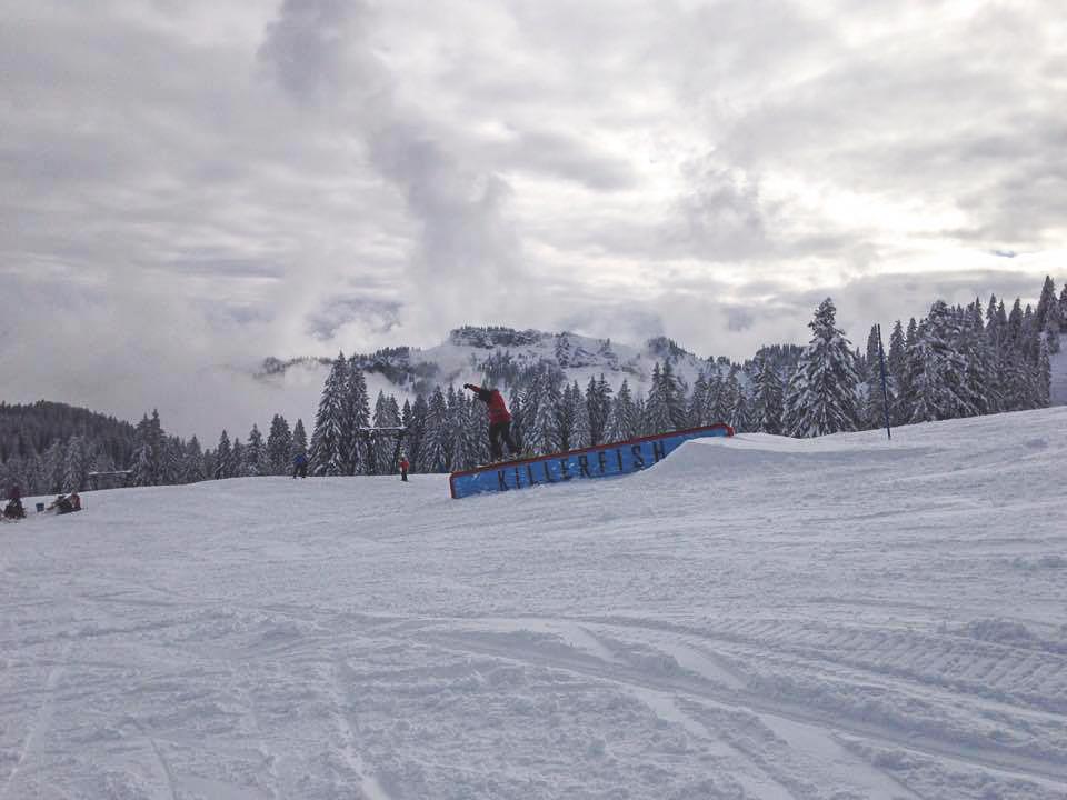 Downrail - Foto: facebook.com/snowparkgrasgehren