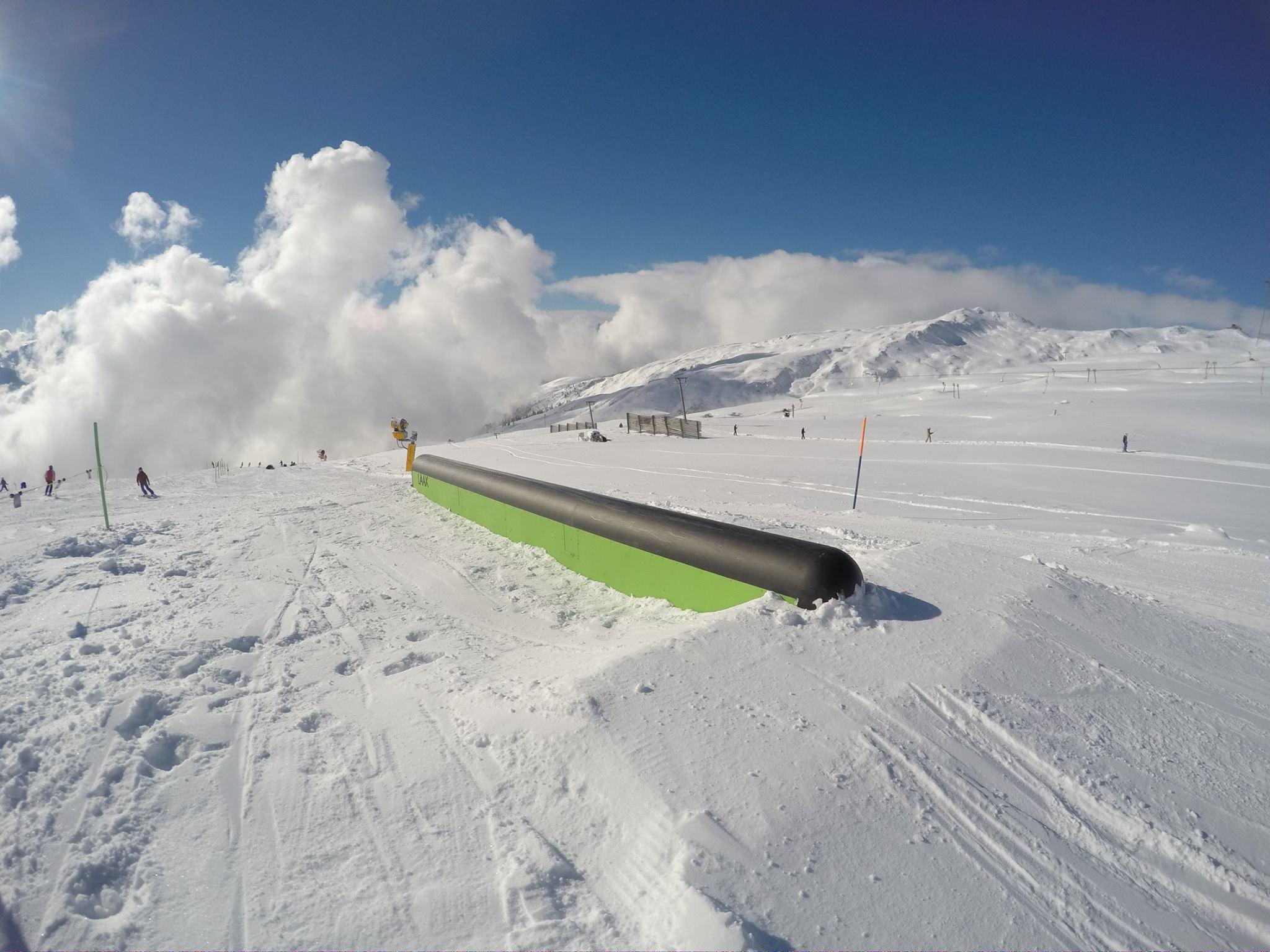 Down Tube - Foto: facebook.com/SnowparkLAAX