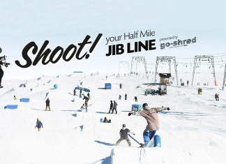 Top-To-Bottom Contest im Snowpark Kaunertal