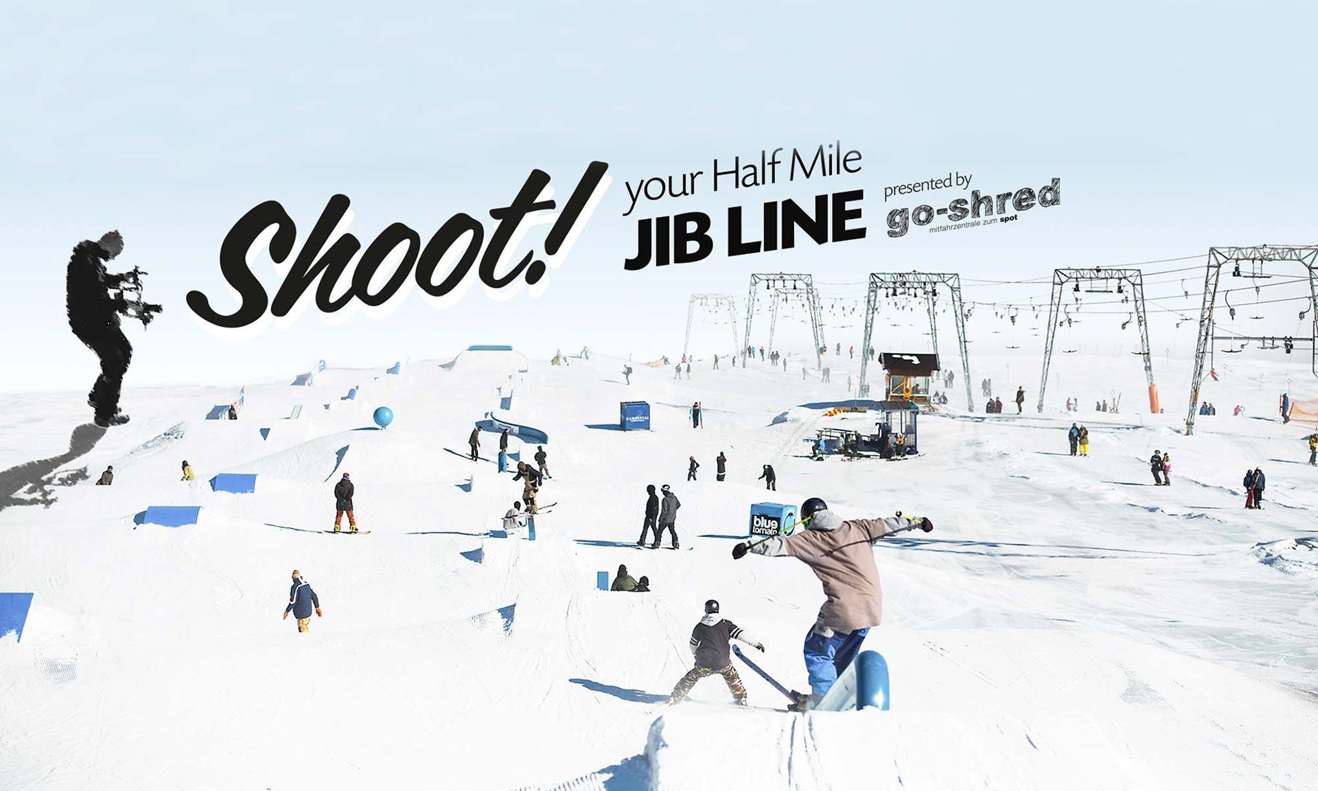 Top-To-Bottom Contest im Snowpark Kaunertal