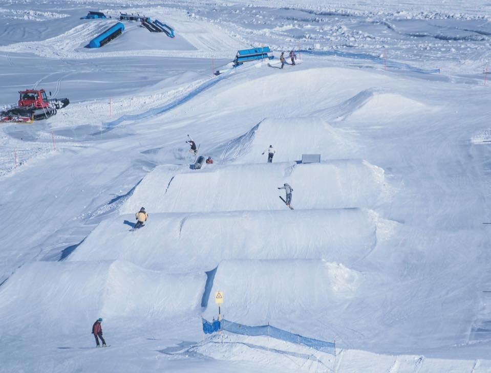 Winterpark in Zermatt (Schweiz) Foto: facebook.com/snowparkzermatt