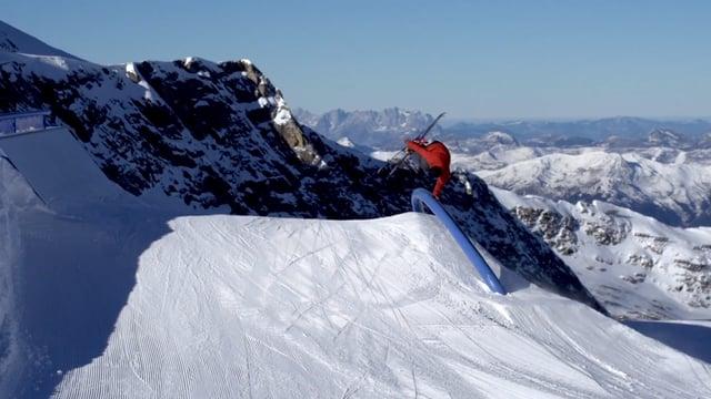 Gletscher Park am Kitzsteinhorn mit Tom Ritsch