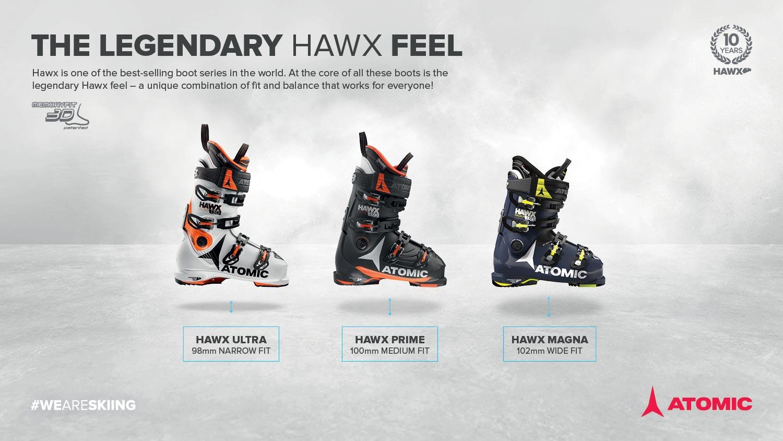 Die neuen Atomic 17/18 Hawx Schuhe für Männer in der Übersicht