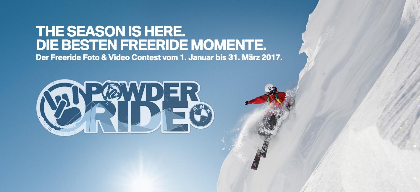 BMW Powder Ride Photo und Video Contest 2017-1