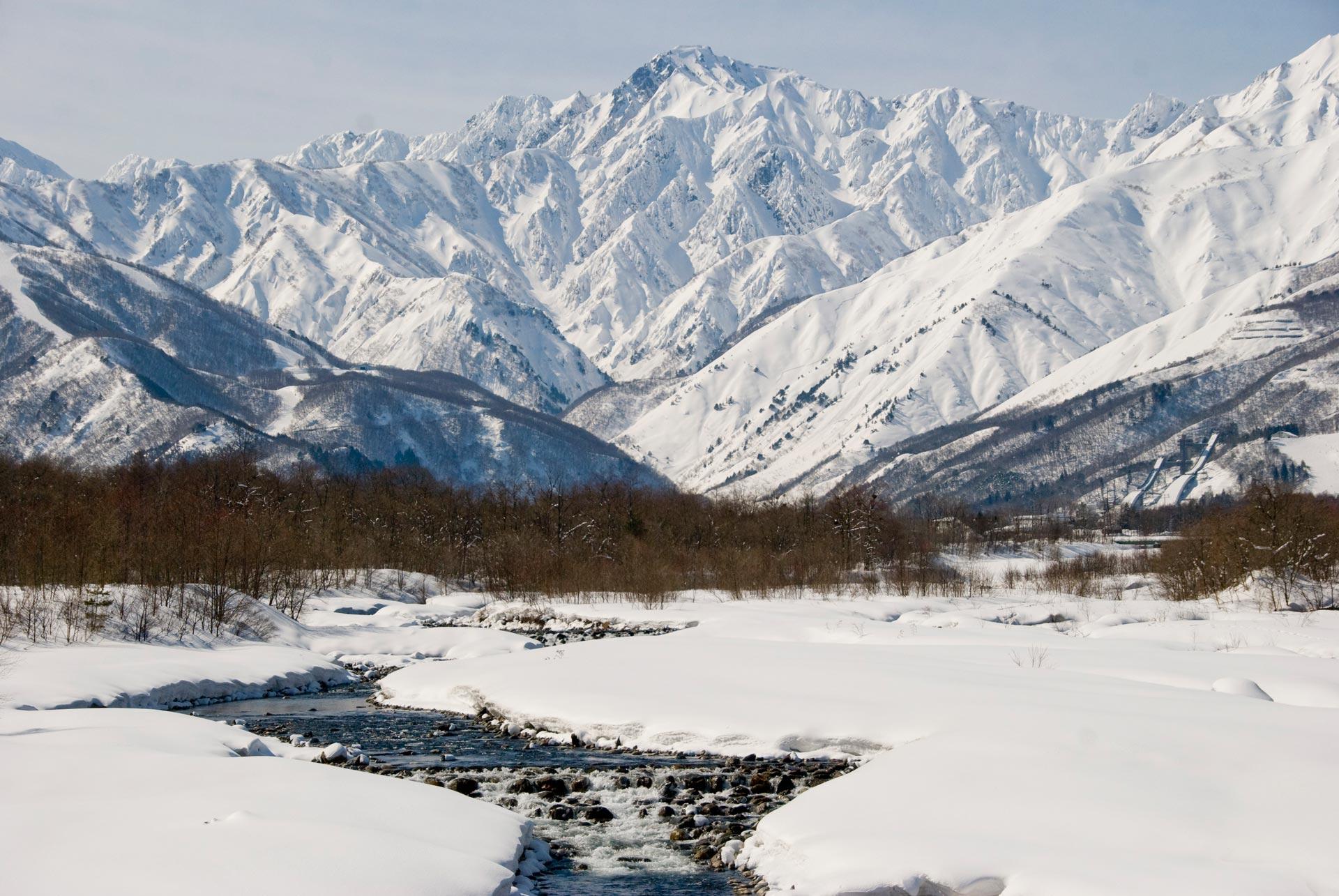 Eine schöne Landschaft ist schon mal garantiert in Japan! - Foto: Sarah Mulholland