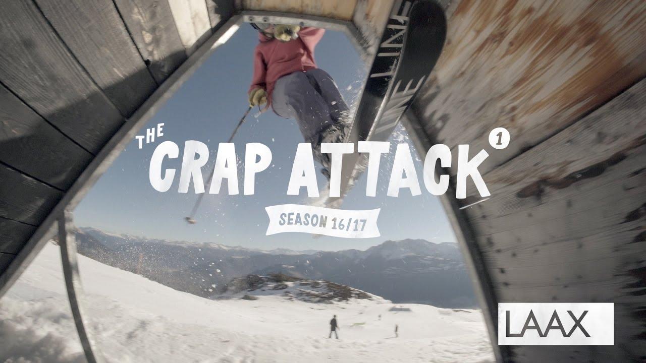The Crap Attack 2017 #1 – Snowpark Laax