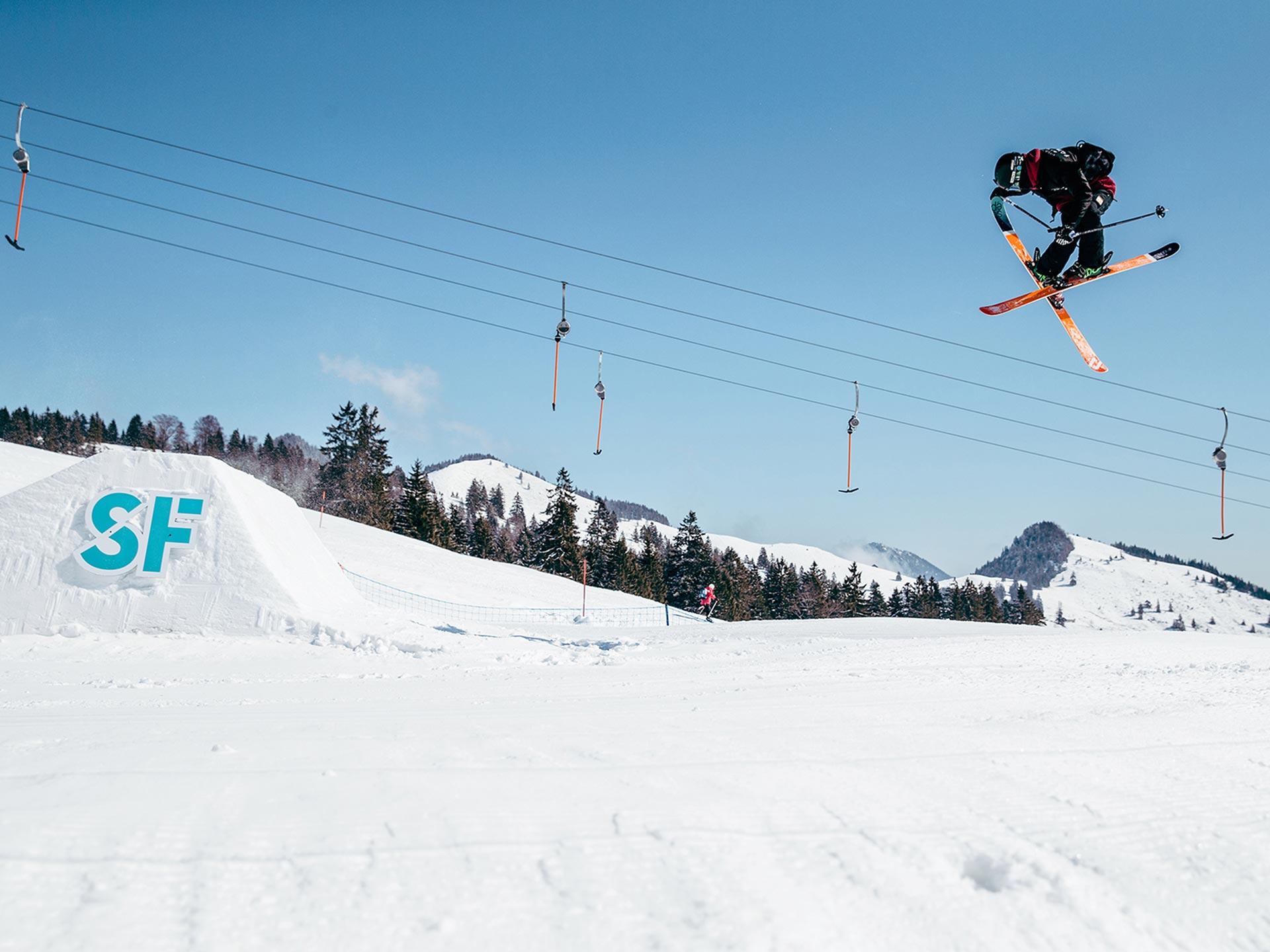 Snowpark Opening in der Actionwelt Sudelfeld - Foto: Martin Erd