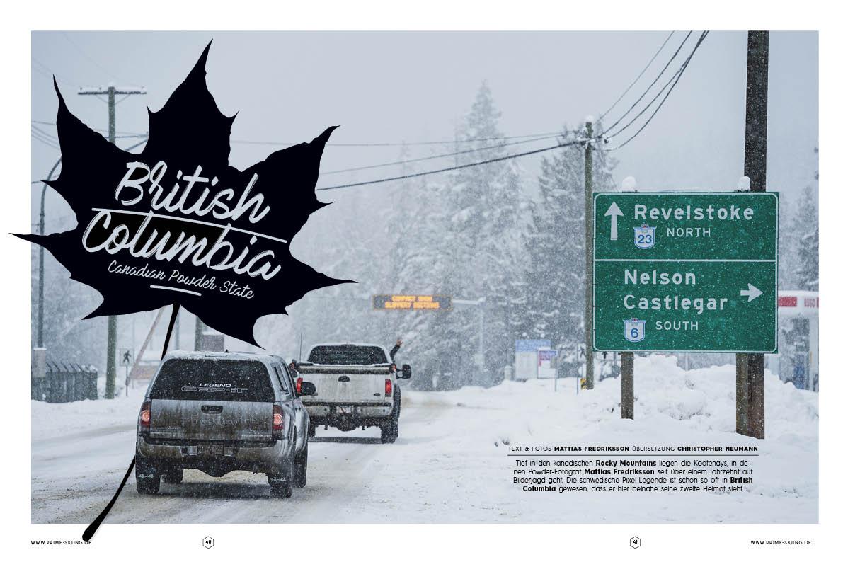 British Columbia – Canadin Powder State
