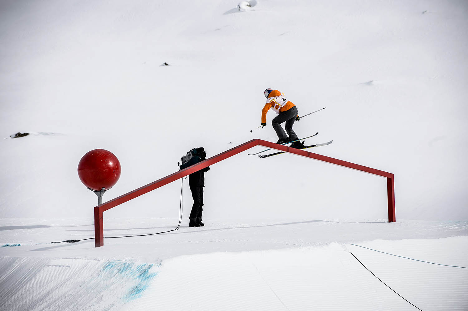 FIS Freestyle Ski World Cup Final in St. Moritz