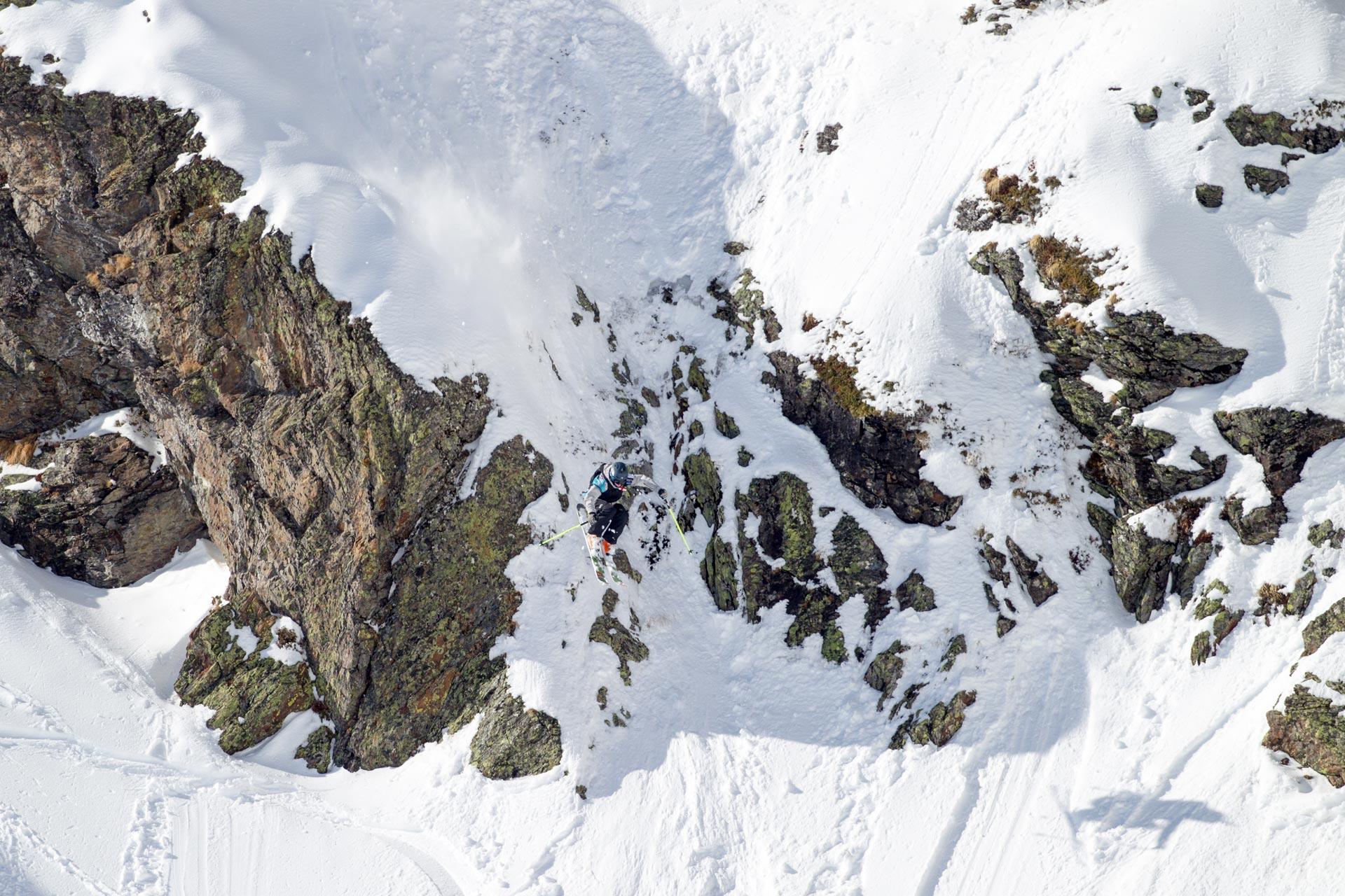 Der zweite Contest in Andorra konnte unter besten Bedingungen stattfinden - Foto: freerideworldtour.com / T. Lloyd