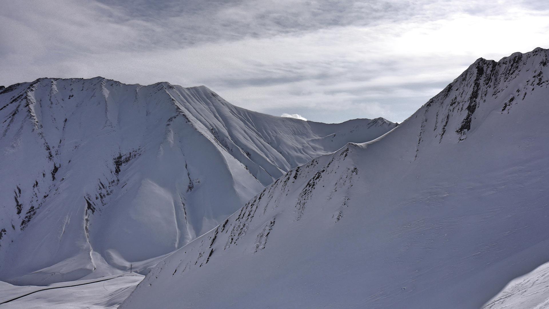 Georgische Berge