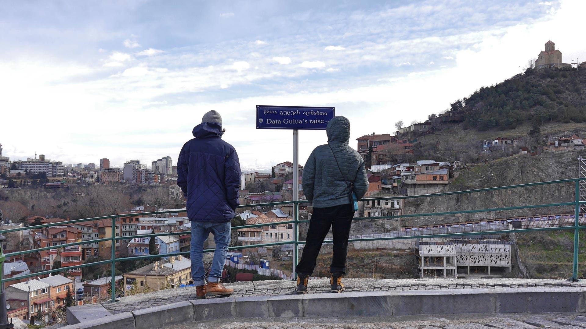 Die Makrelen Gang in Tiflis