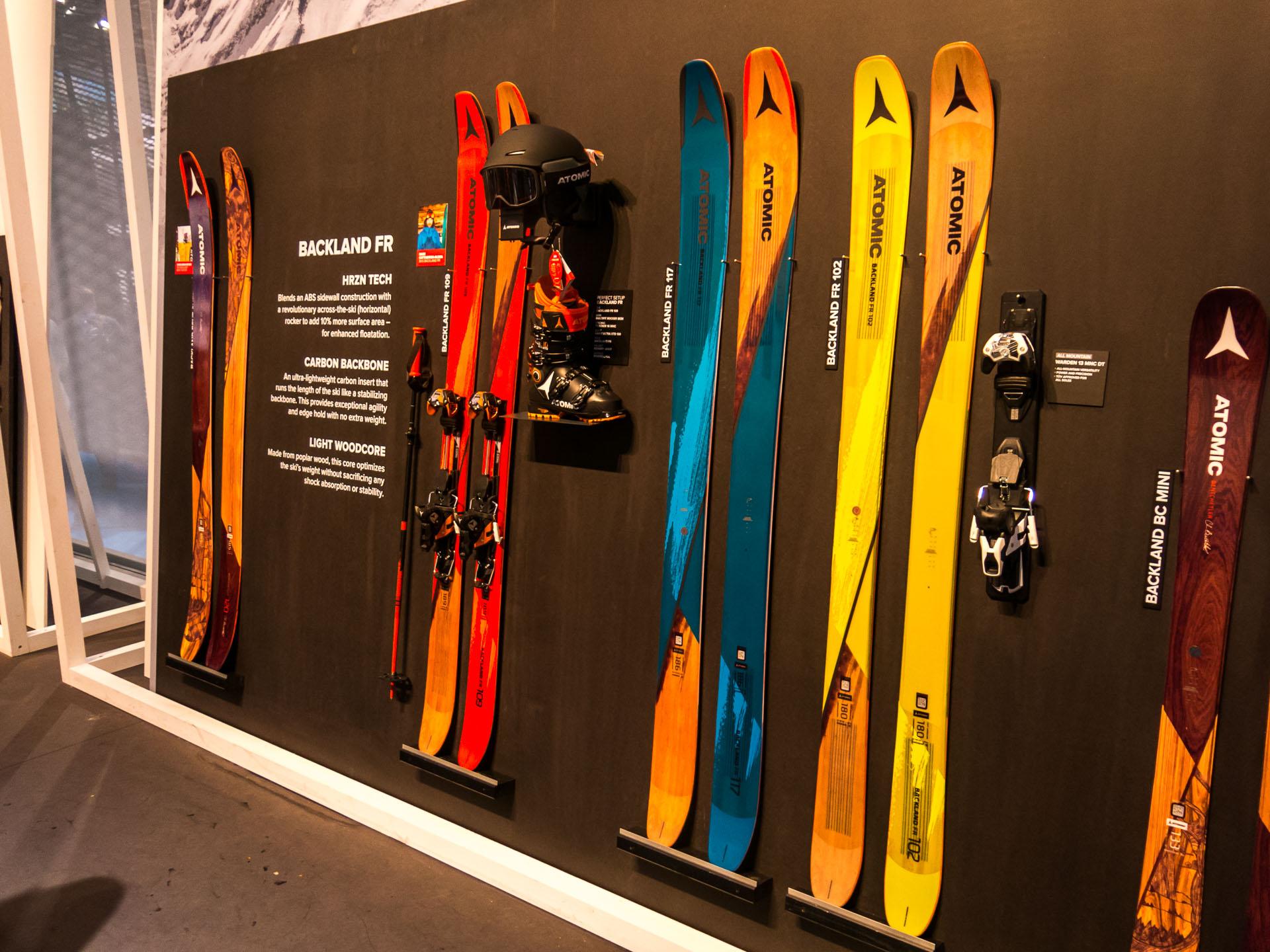 ispo 2017 ski highlights teil 2 mit atomic k2 salomon. Black Bedroom Furniture Sets. Home Design Ideas
