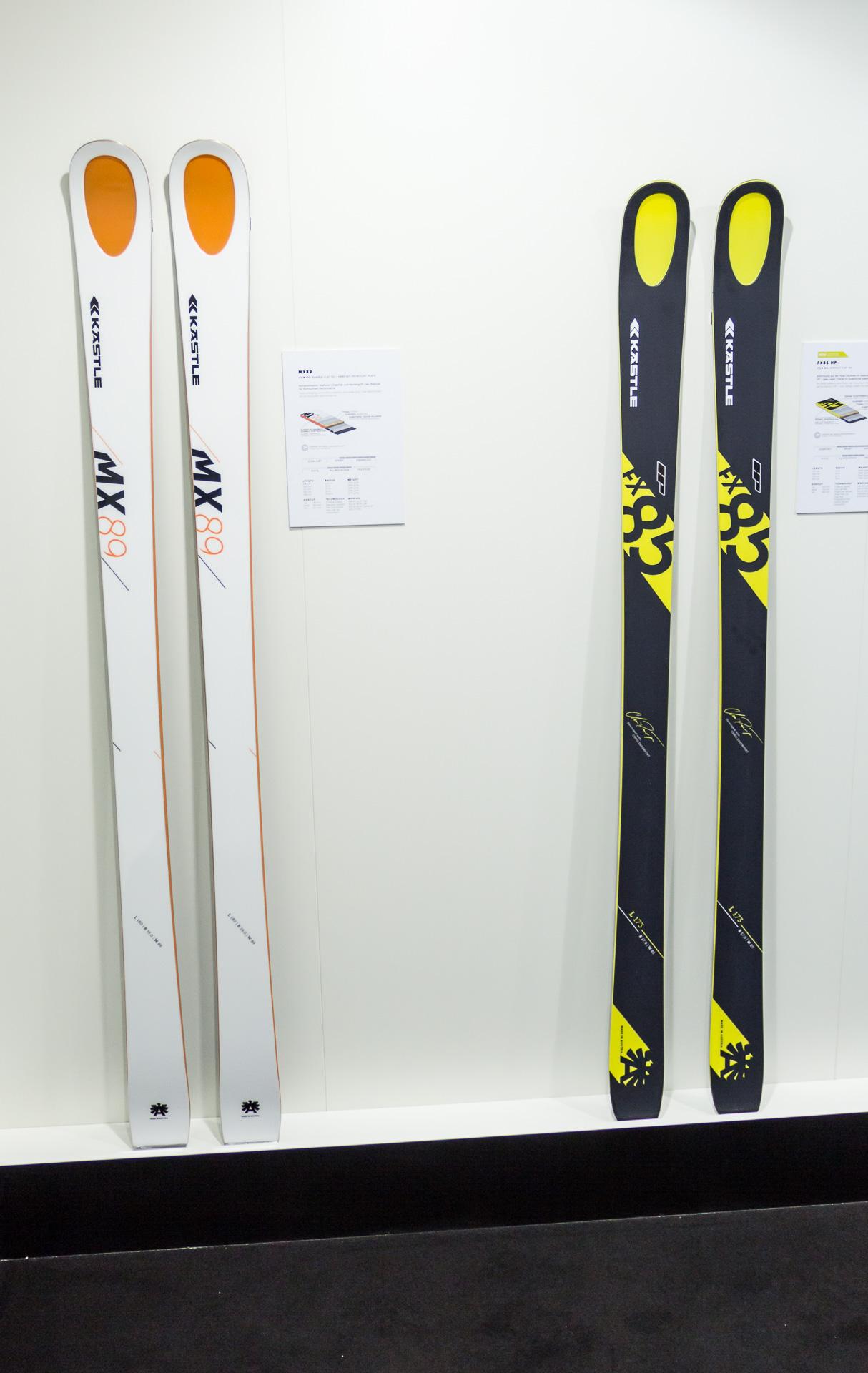Kästle MX 89 und FX 85