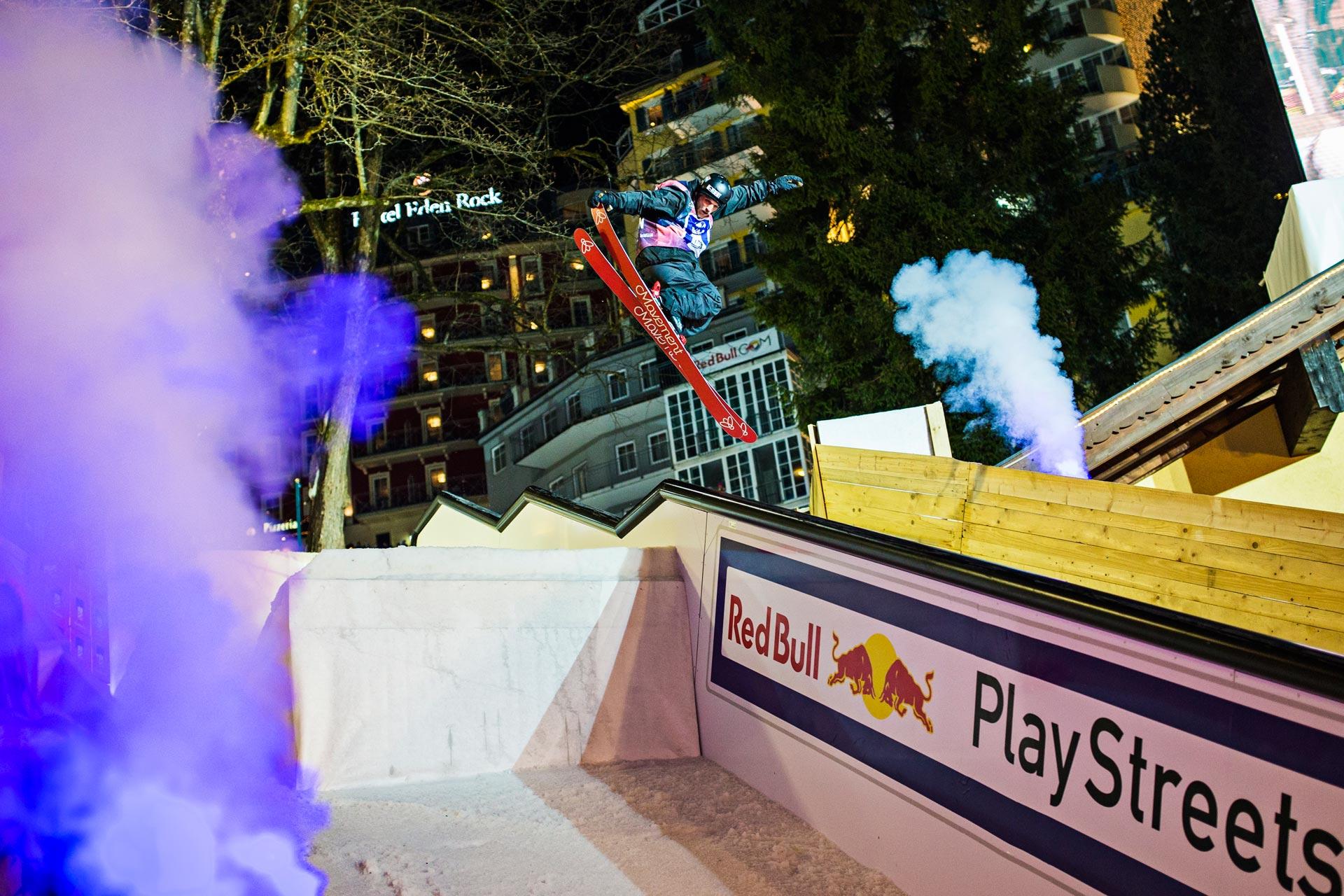 Der Schweizer Laurent De Martin ist sonst eher selten auf Contests anzutreffen, aber für die Red Bull Playstreets kam auch er in das österreichische Städtchen. - Foto: Red Bull Content Pool