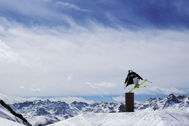 Jürgen Nigg im Snowpark Montafon ©Roman Lachner