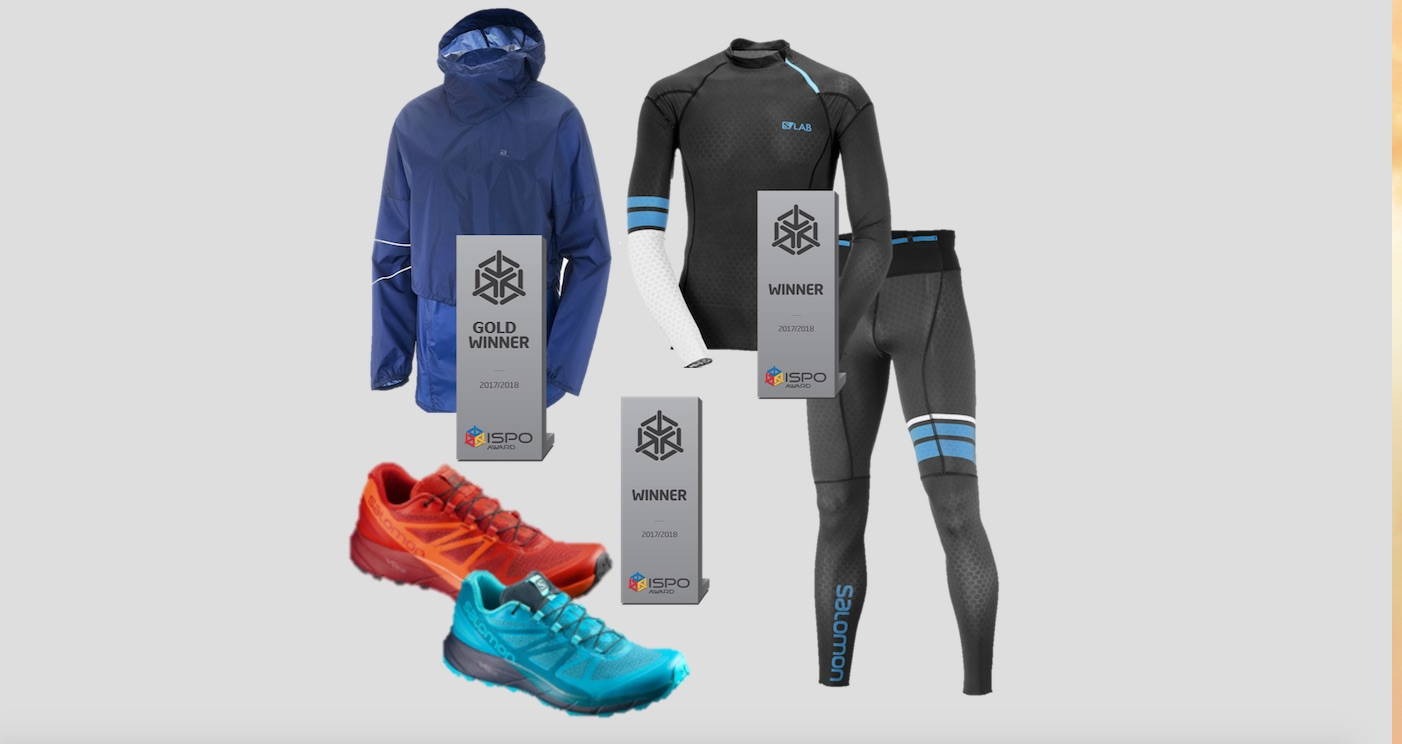 finest selection ba9f2 fd2c4 Salomon - Ispo Awards für drei Produkte in den Kategorien ...