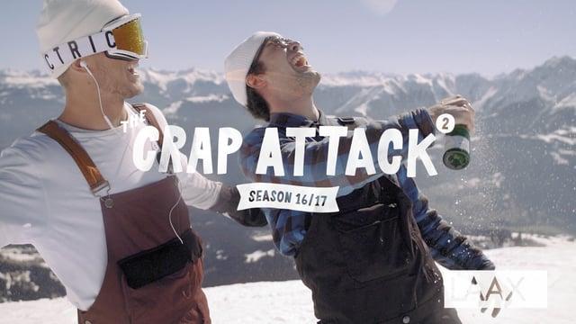 The Crap Attack 2017 #2 mit Ole Pavel, Kai Mahler & Co. – Snowpark Laax
