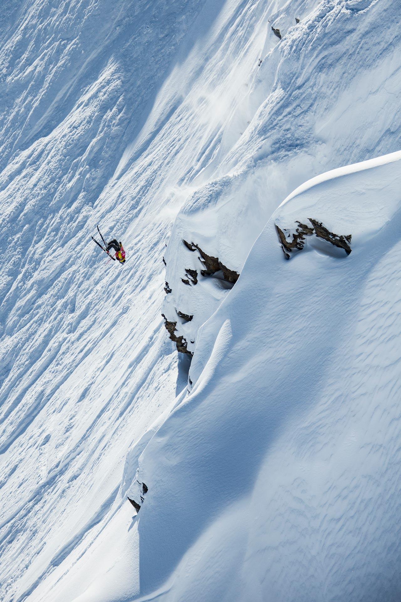 Die Fahrern gingen voll auf Sendung in Alaska - Foto: D. Daher / freerideworldtour.com