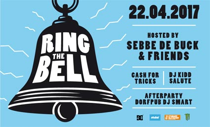 Ring The Bell mit Sebbe De Duck & Friends: 22. April 2017