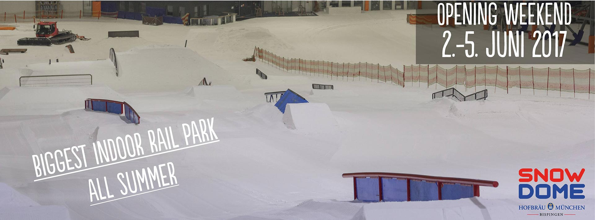 Summer Opening Snowpark Bispingen - Save the Dates