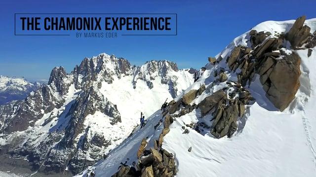 Big Mountain Lines in Chamonix mit Markus Eder