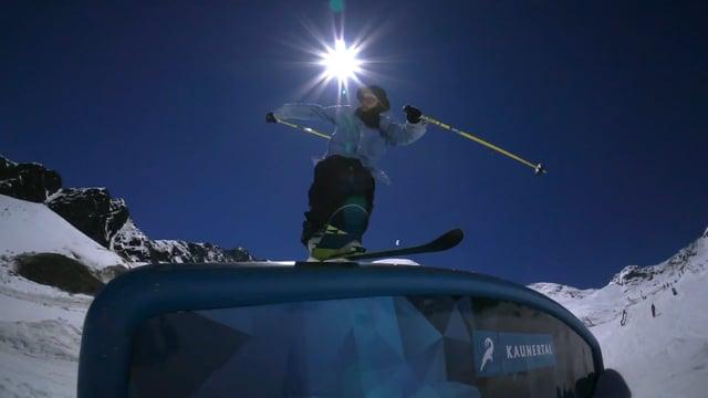 Closing Day im Snowpark Kaunertal mit Luca Pichler