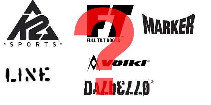 K2, Völkl, Full Tilt, Line, Marker und weitere Marken stehen zum Verkauf