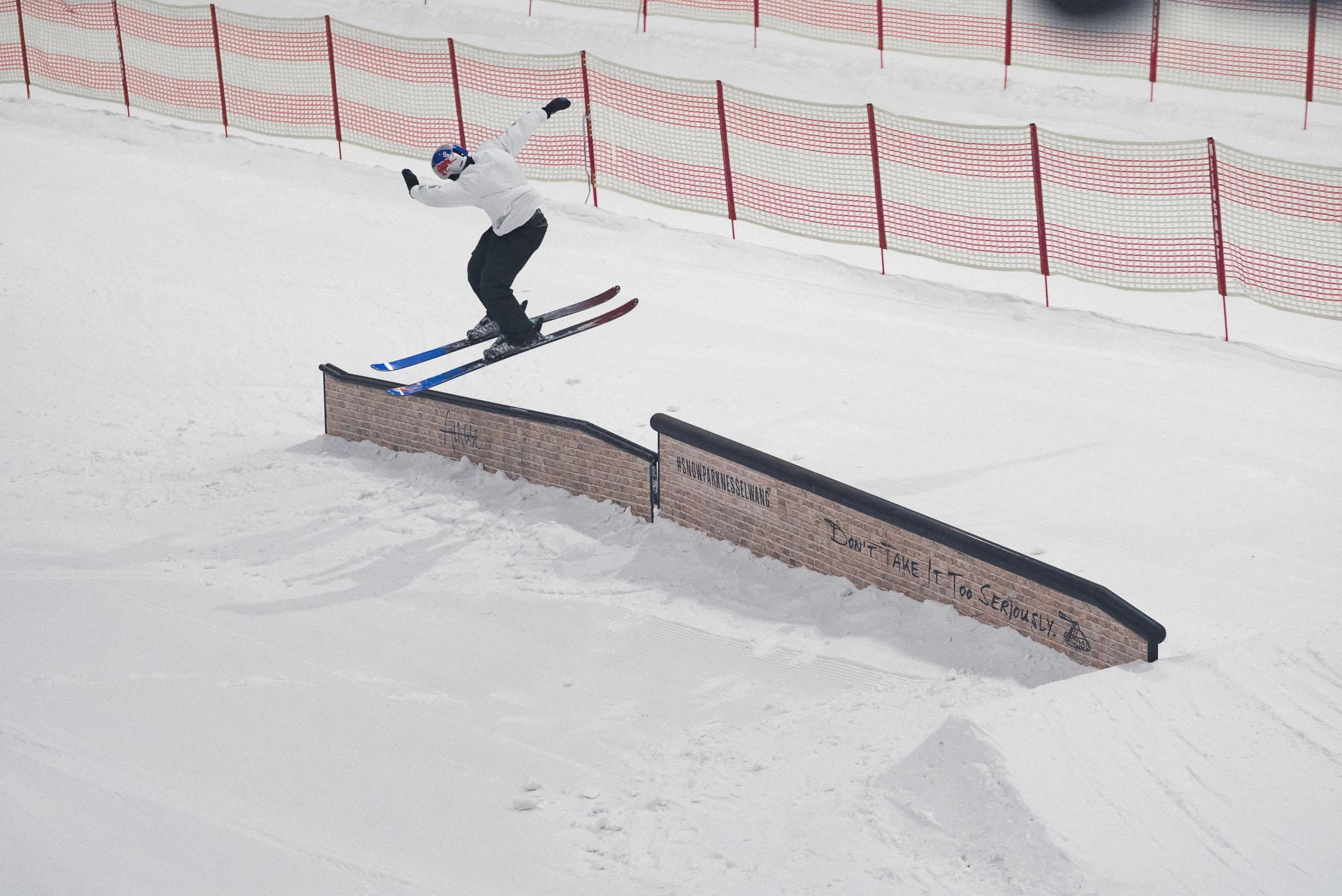 Das Swiss Freeski Team um Kai Mahler war diesen Sommer bereits zwei Mal für Trainingscamps im Snowpark Bispingen