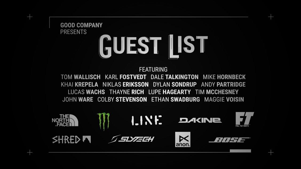 """Guest List"" Teaser – Good Company"