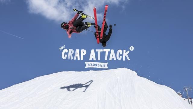 The Crap Attack 2017 #3 & #4 – Snowpark LAAX
