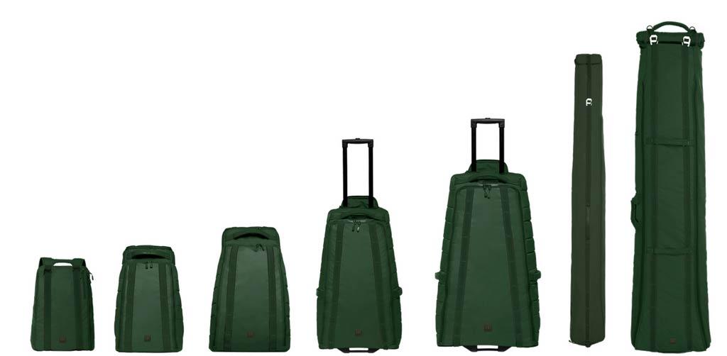 Die 17/18 Douchebags in der neuen Farbe Pine Green
