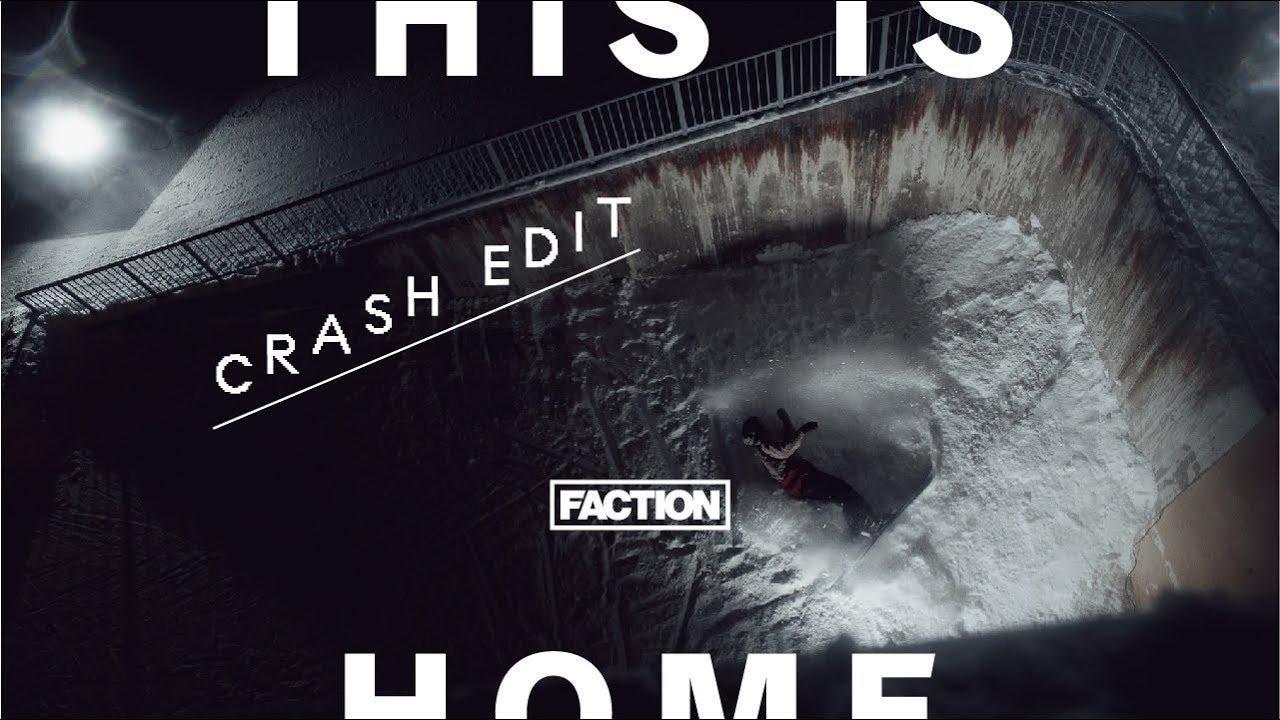 "Crash-Video aus dem neuen Faction Skis Film ""This is Home"""