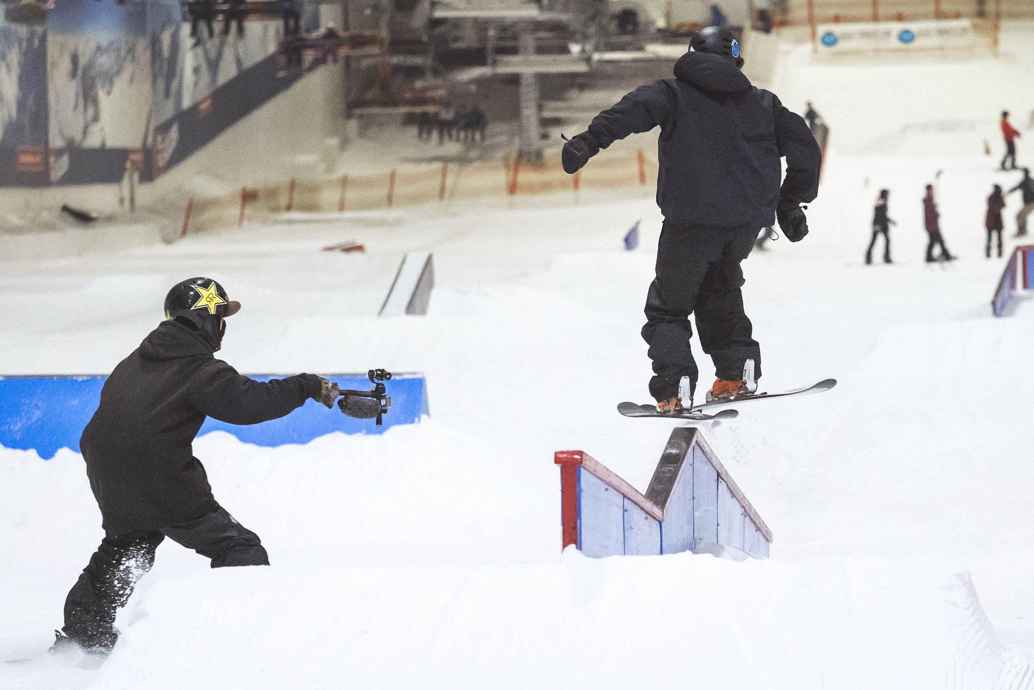 Die SLVSH Crew um Matt Walker war auch 2017 wieder im Snowpark Bispingen am Start. Das erste Game dieser Saison ist bereits online, der Rest wird im Laufe dieses Winters veröffentlicht.