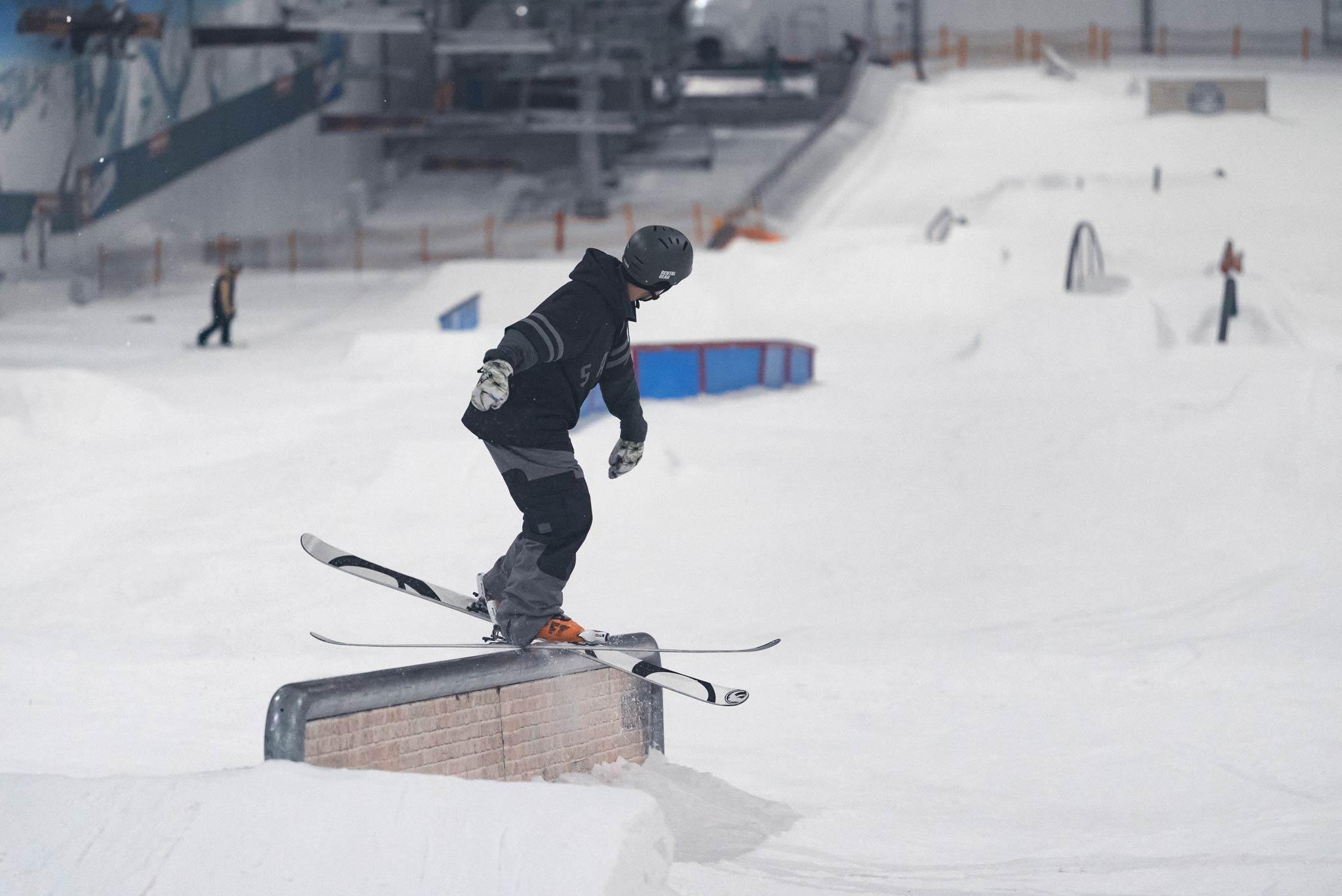 Durch das einzigartige Angebot kommen mittlerweile Leute aus ganz Europa regelmäßig in den Snowpark Bispingen - Rider: Severin Guggemoos aus Garmisch / Innsbruck