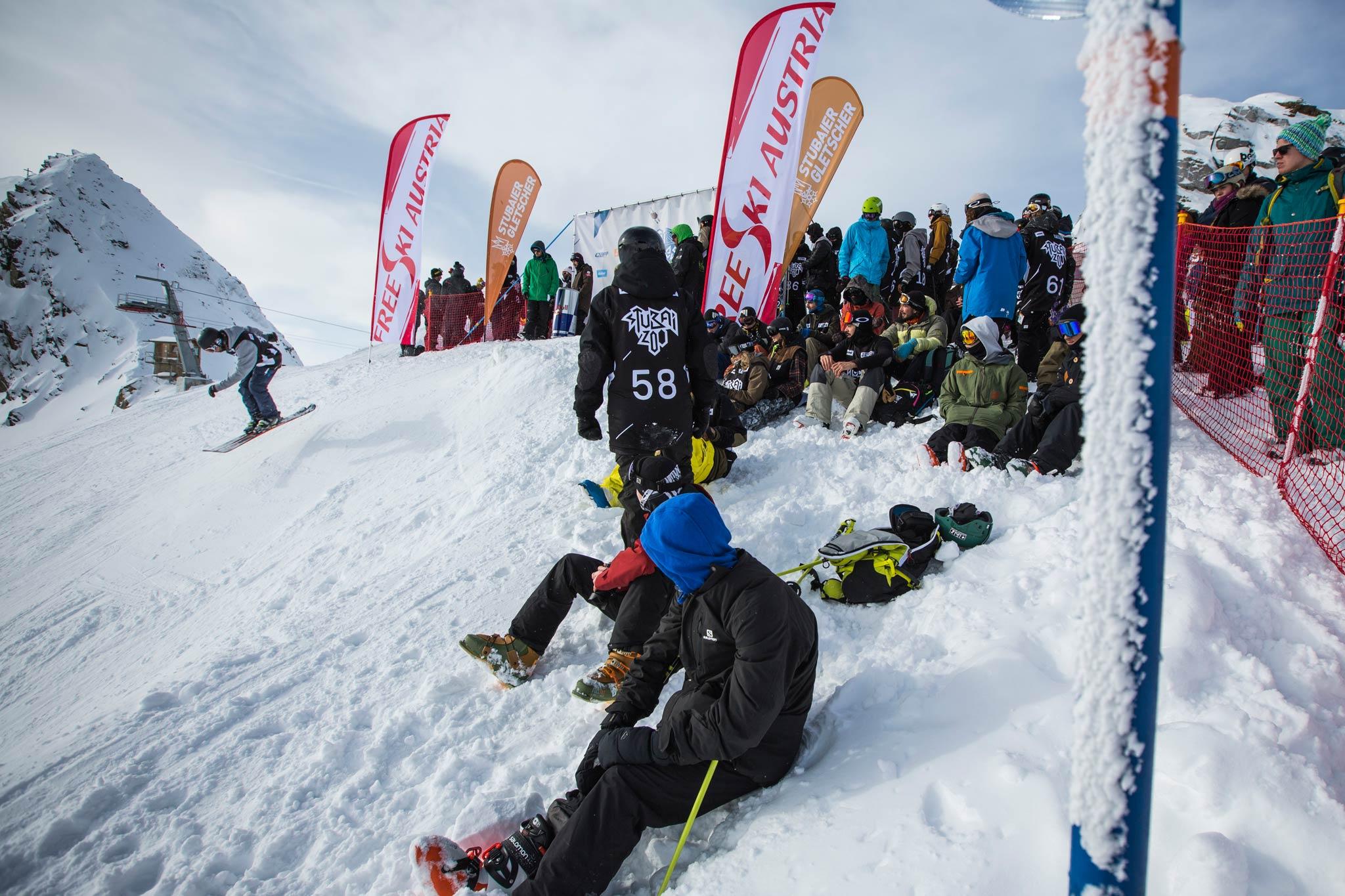 Immer mehr Rider finden aufgrund des exzellenten Setups sowie den internationalen Events ihren Weg auf den Stubaier Gletscher - Foto: Flo Breitenberger