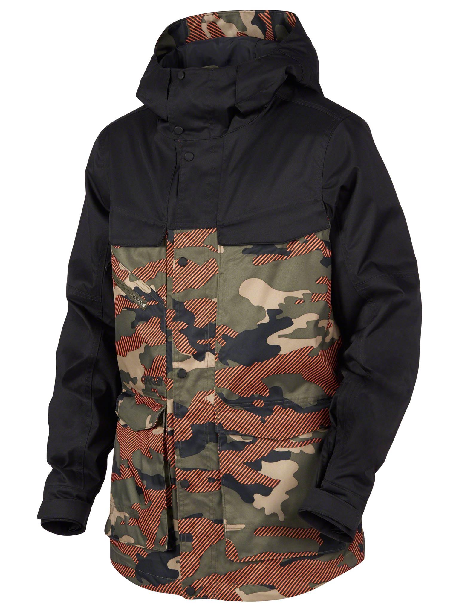 Oakley Timber 15K Biozone Jacket 17/18 - Farbe: Warming Camo