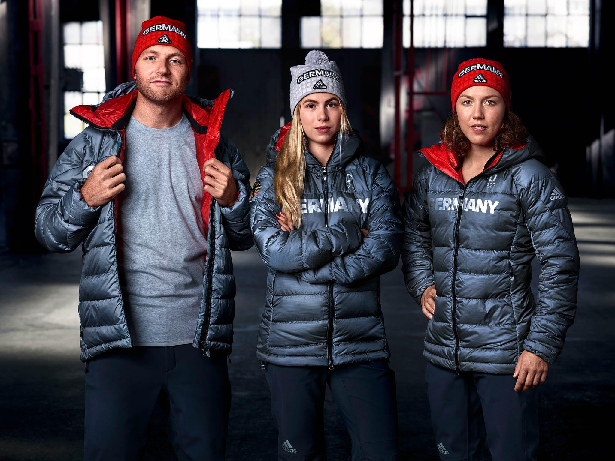 Kleidung deutschland olympia 2018