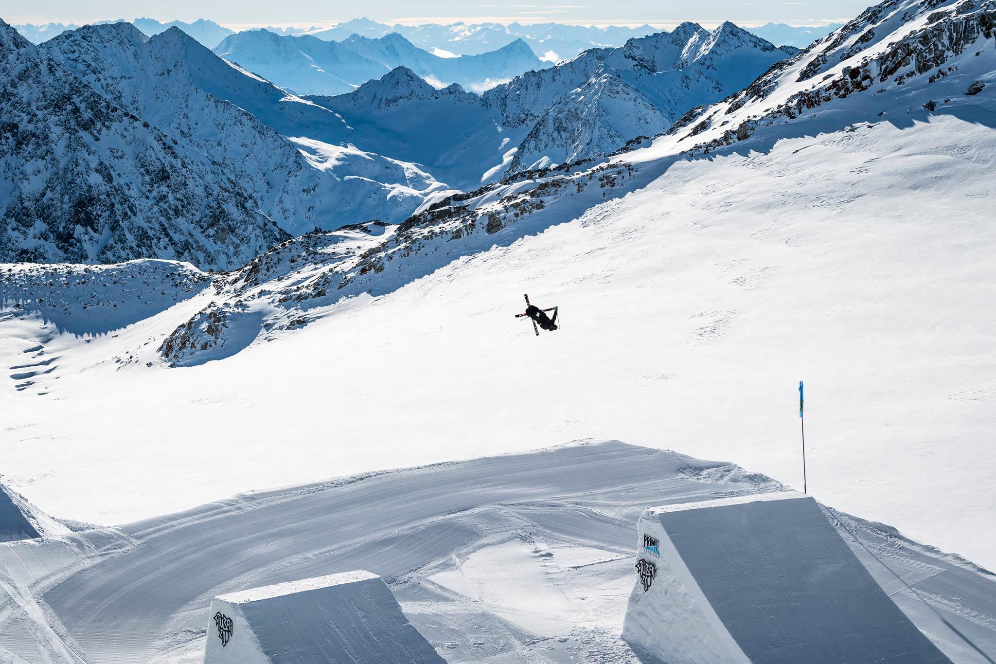 Rider: Andri Ragettli - Foto: Pally Learmond