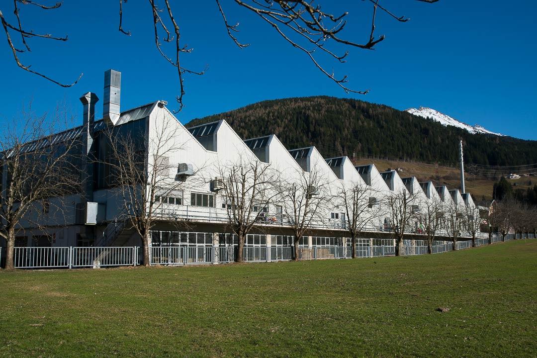 Die Blizzardskifabrik in der Black Diamond seine Modelle produziert, steht in Mittersill, Österreich.