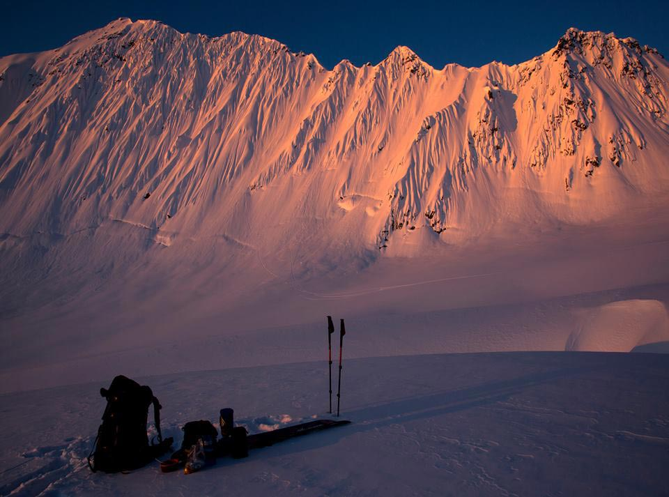 """Storm Troopers"" Teaser - Big Mountain Skiing ohne Heli in Alaska - Foto: Picture Organic Clothing"
