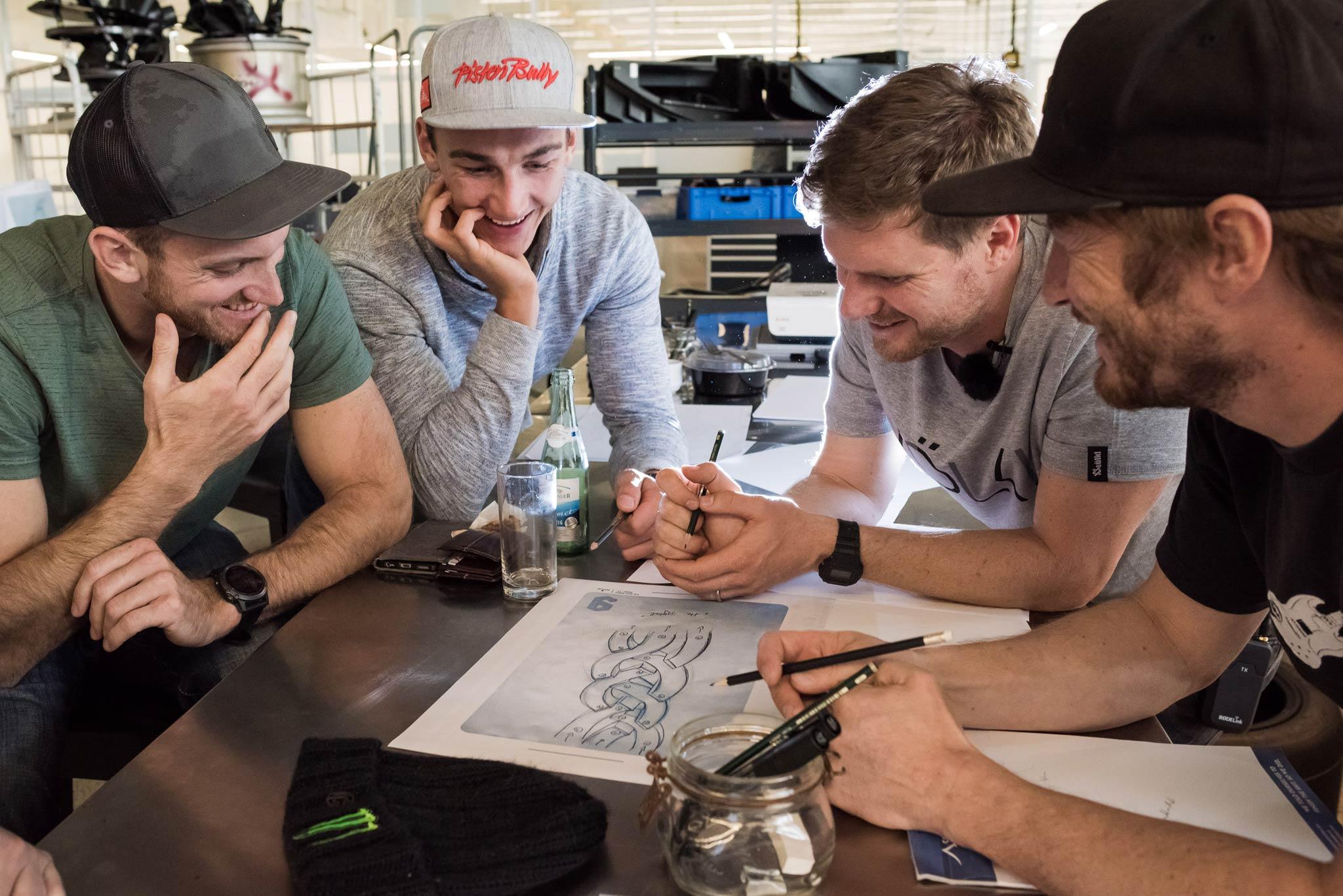Beim Workshop arbeitet das gesamte Team an innovativen Ideen für das nächste Event - Foto: Klaus Polzer