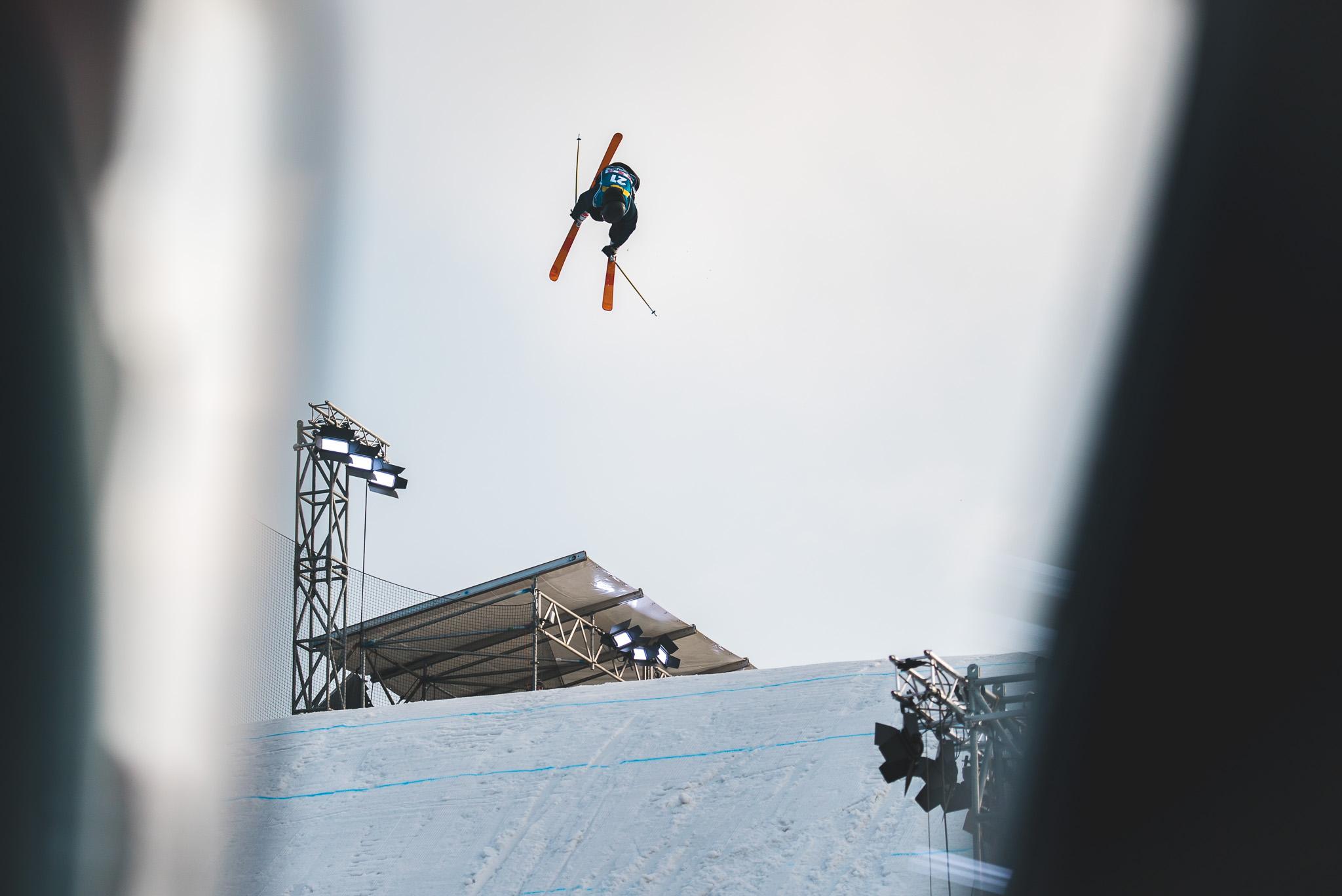 Auch wenn einige Top Stars der Szene fehlten, war das Feld beim Big Air Weltcup in Mönchengladbach nach wie vor gut besetzt - Rider: Oliwer Magnusson (SWE)